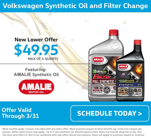 VW Oil Change Special