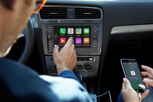 2017 VW E Golf Apple Carplay