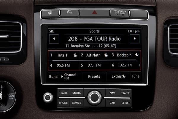 2017 VW Touareg SiriusXM Satellite Radio