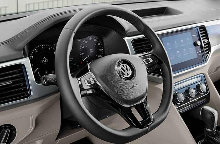 2018 Volkswagen Atlas Interior Steering Wheel and Dashboard
