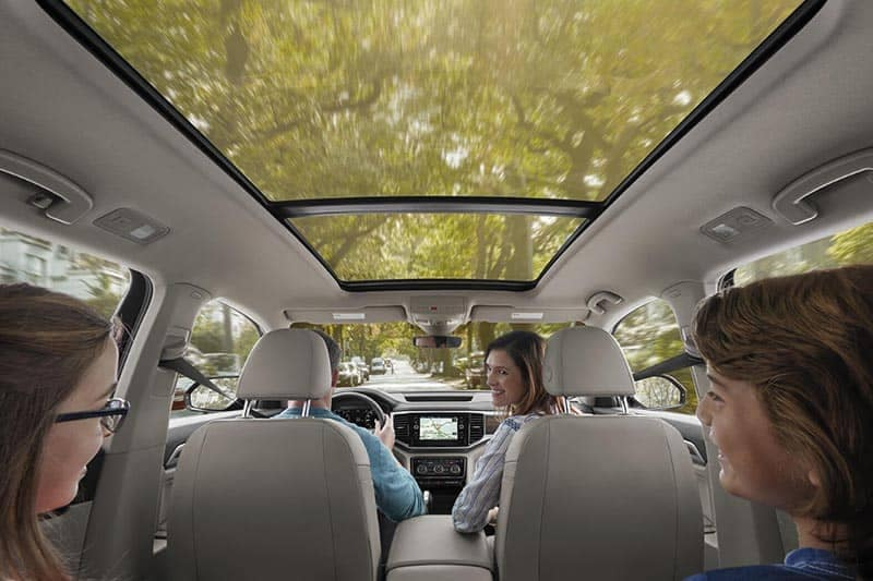 2018 Volkswagen Atlas Panoramic Roof