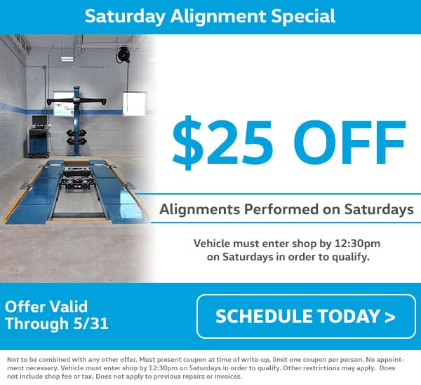 VW Service Alignment Special