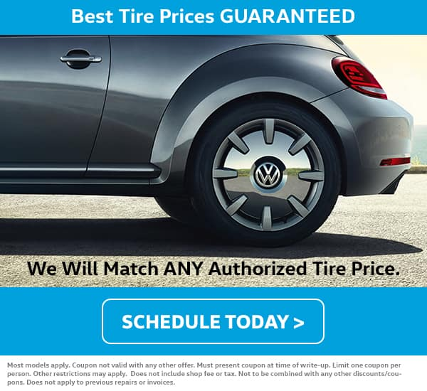 VW May Tire Price Match