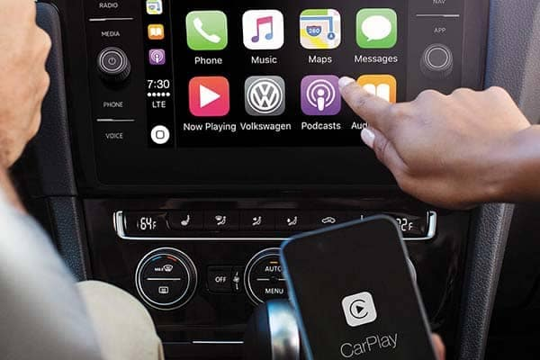 2018 Volkswagen Tiguan Apple Carplay
