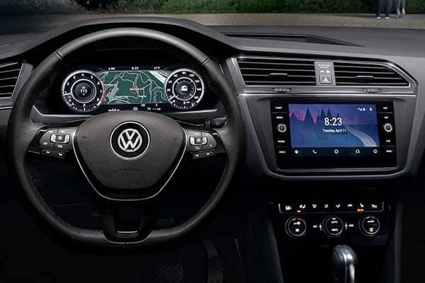 2018 Volkswagen Tiguan Dashboard Technology Features