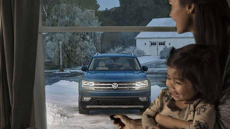 2018 Volkswagen Atlas Remote Start