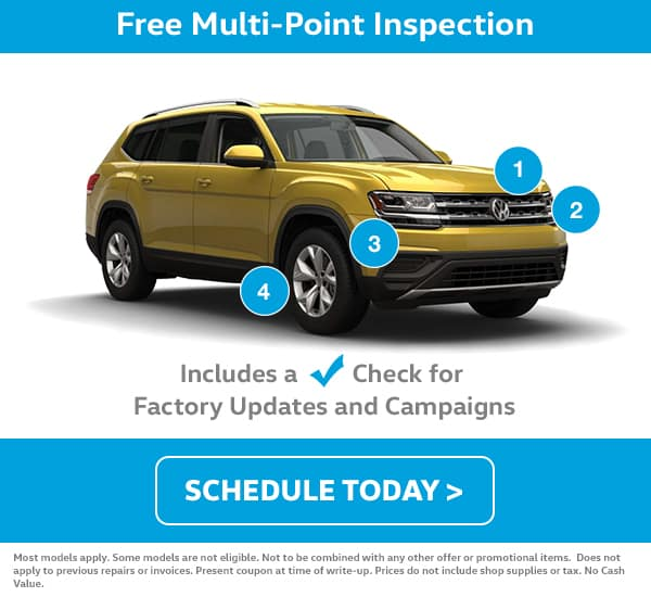 July VW Multi-Point Inspection