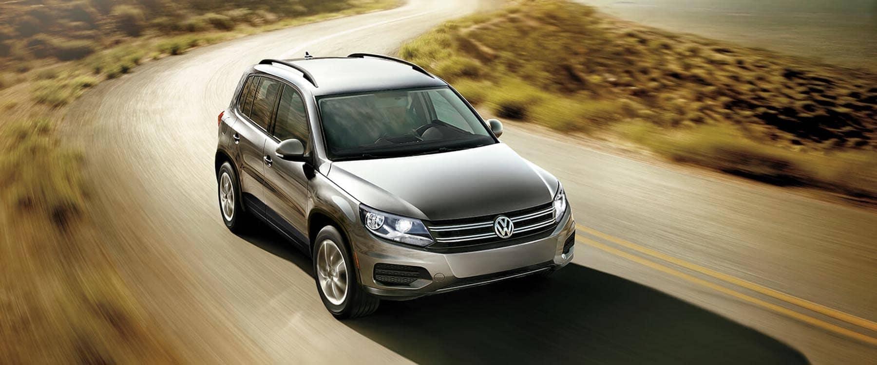 2018 Volkswagen Tiguan Limited Driving