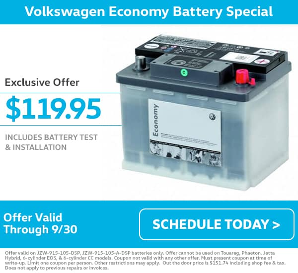 VW Battery Special