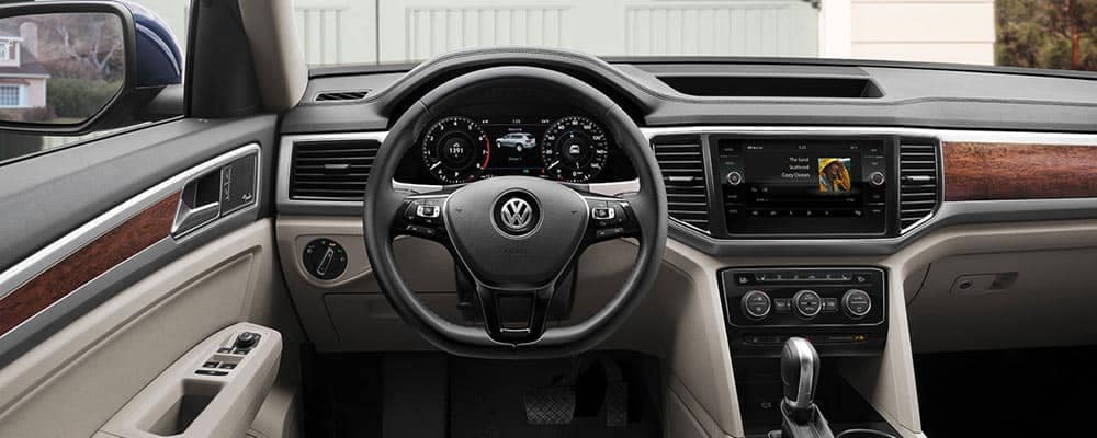2018 Volkswagen Atlas Interior Dashboard with Technology Features