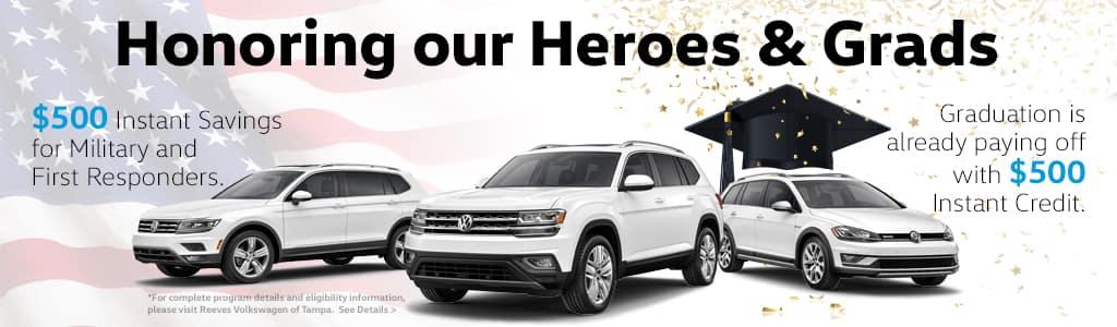 VW Military and College Bonus