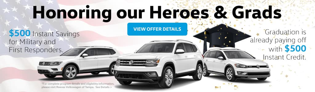 VW Military and College Graduate Bonus