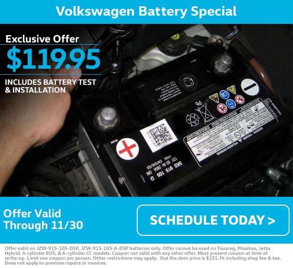 November VW Battery Special