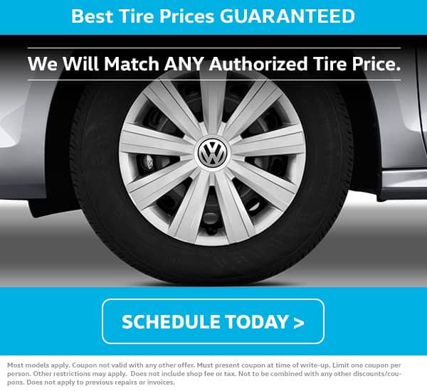 VW Tire Price Match November Special