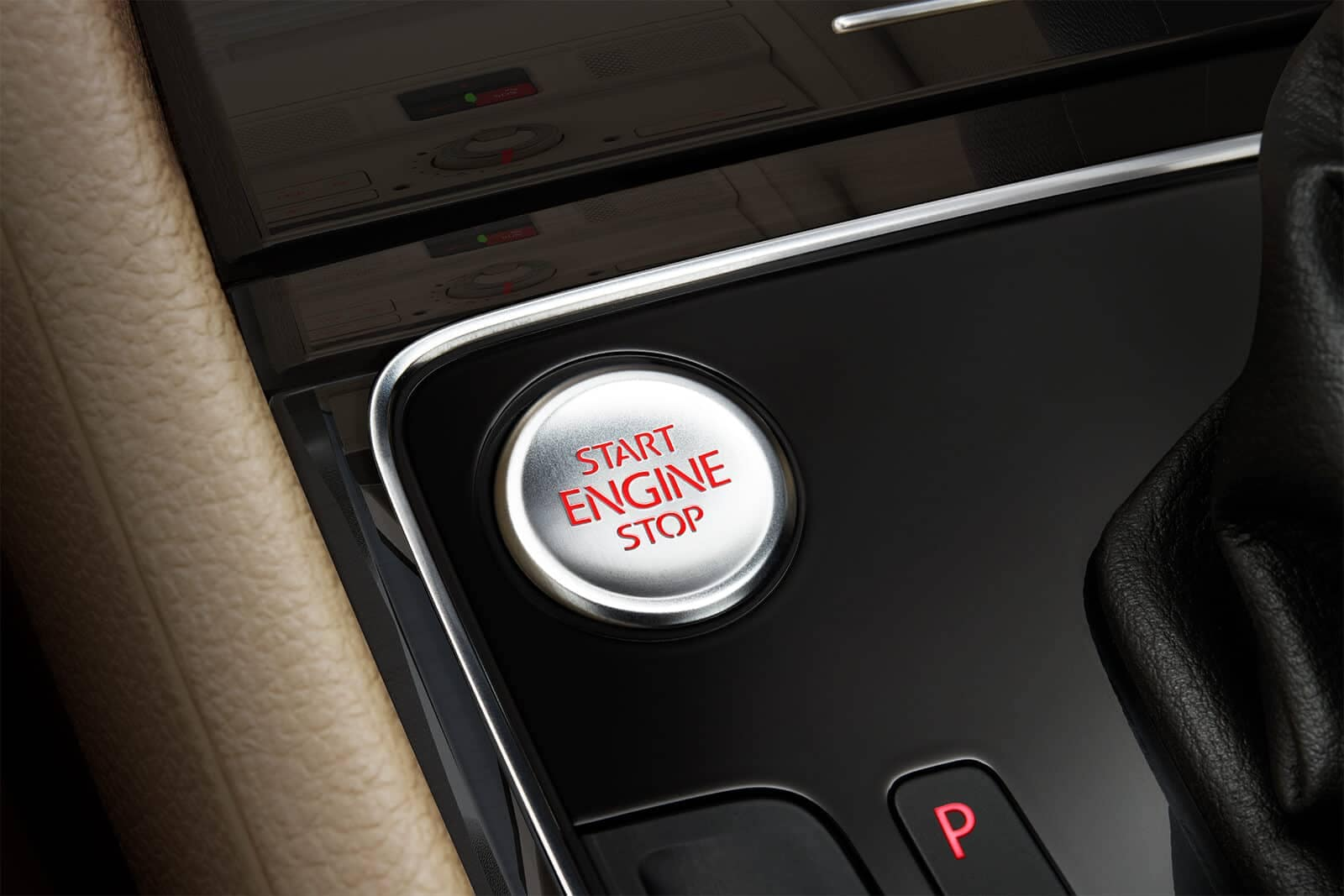 2019 Volkswagen Passat Push Start Button