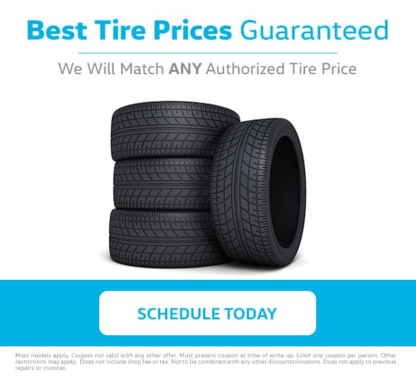 VW Tire Price Match