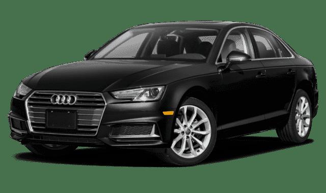 Black 2019 Audi A4