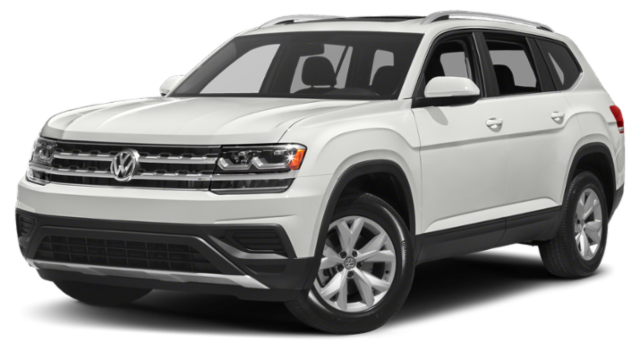 2019 VW Atlas White