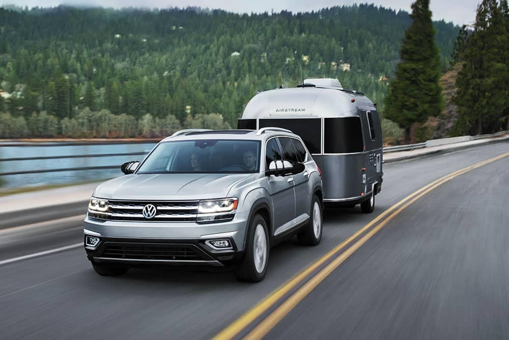 2019 Volkswagen Atlas towing