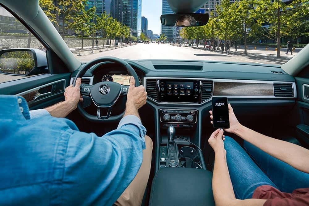 2019 Volkswagen Atlas driver view