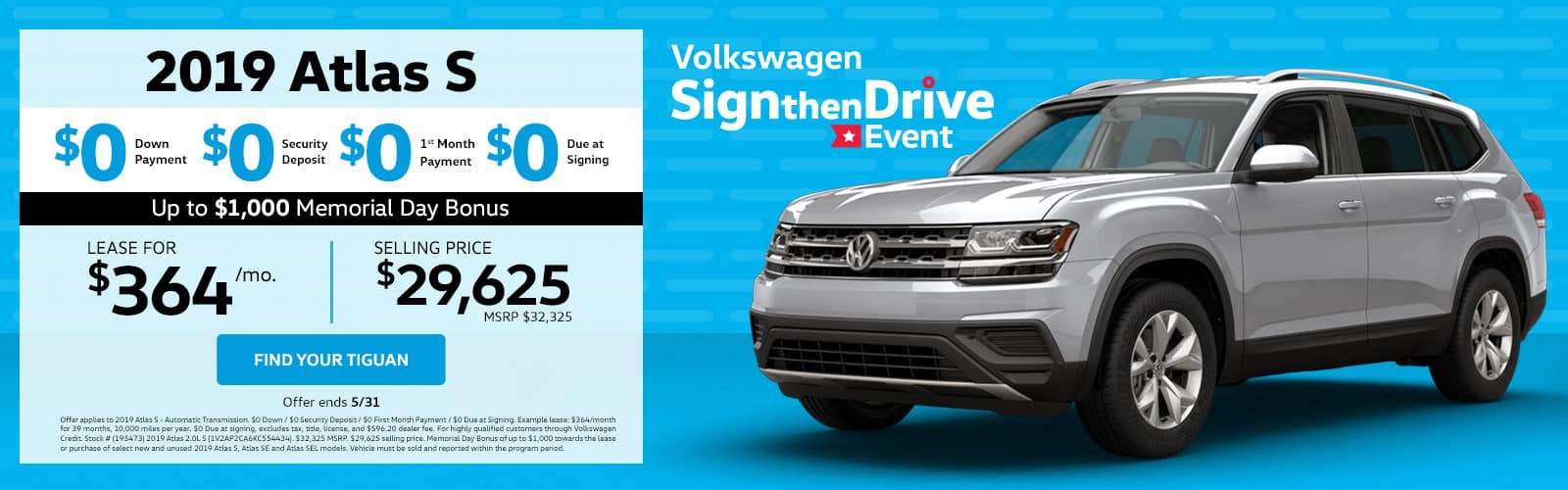 2019 VW Atlas