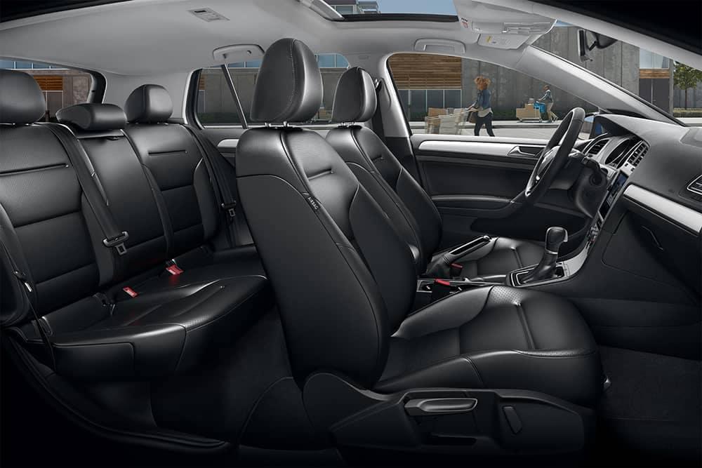 2019 VW Golf Seating