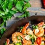 Shrimp seafood restaurant
