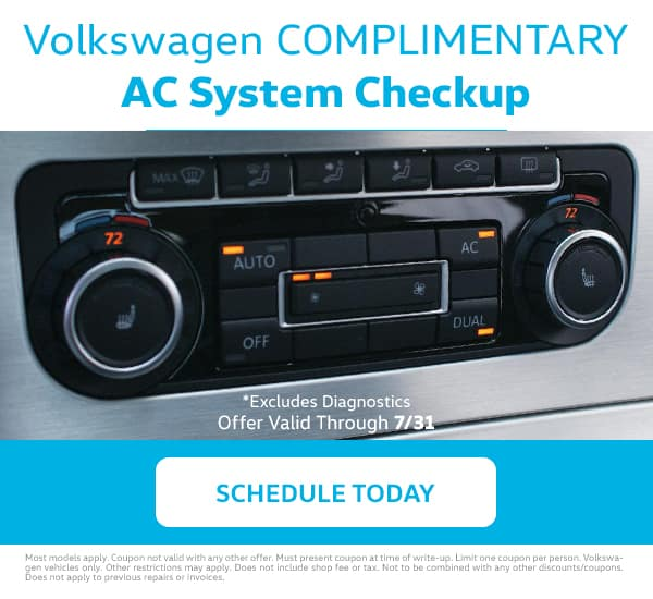 VW AC System Checkup