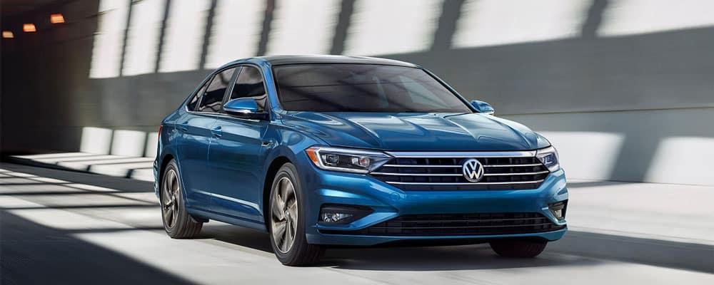 2019 Volkswagen Jetta Driving on Road