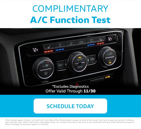 VW A/C Function Test