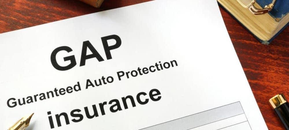 GAP Insurance Banner