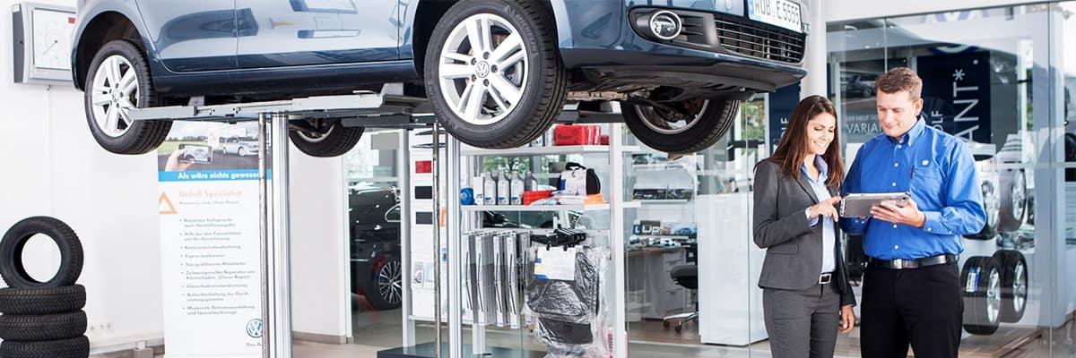 Volkswagen Service Banner