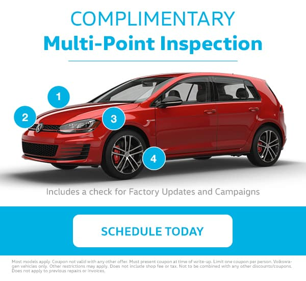 VW Multi-Point Inspection