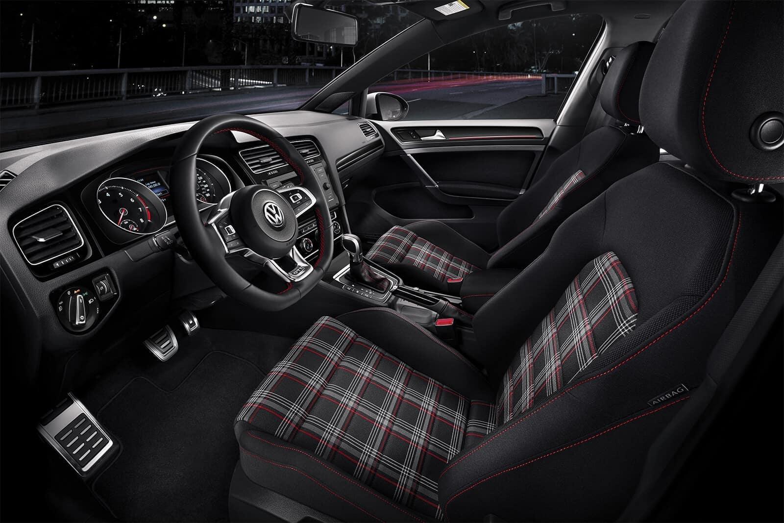 2019 VW Golf GTI Seating