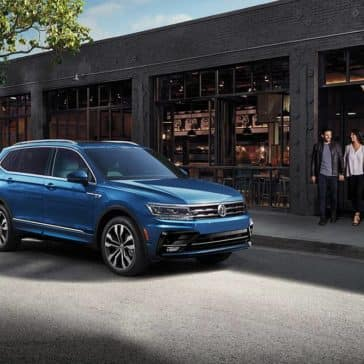 2020 VW Tiguan Parked