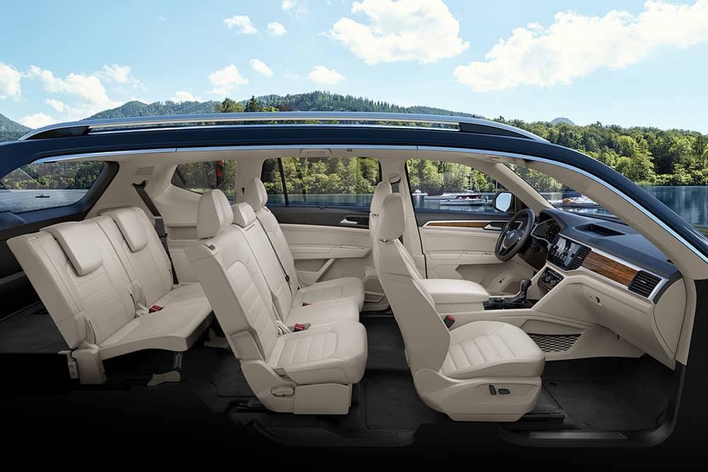 2020 VW Atlas Seating