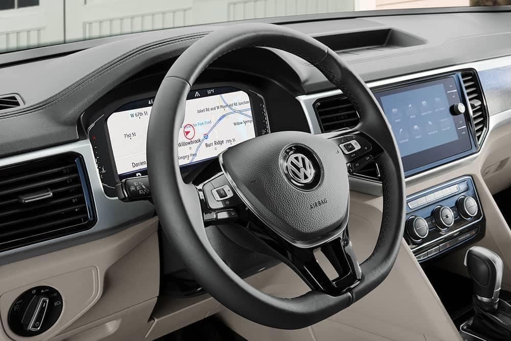 2020 VW Atlas Steering Wheel