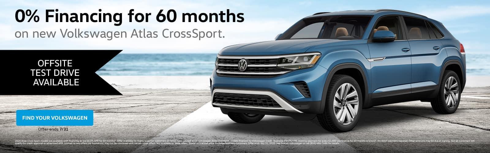 VW Atlas CrossSport