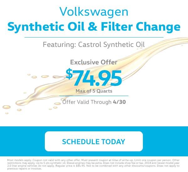 VW Oil Change