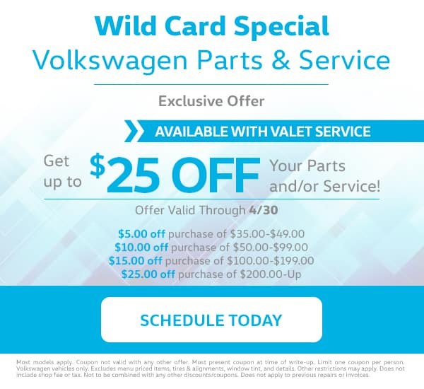 VW Wild Card Special