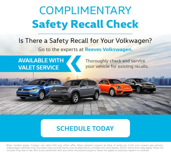 VW Safety Recall Check