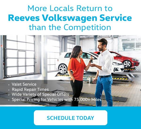 Reeves Volkswagen Service
