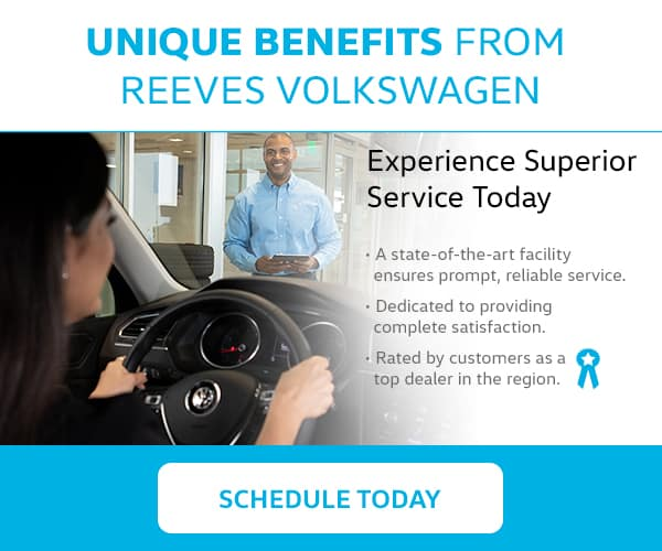 Reeves VW Tampa Unique Benefits