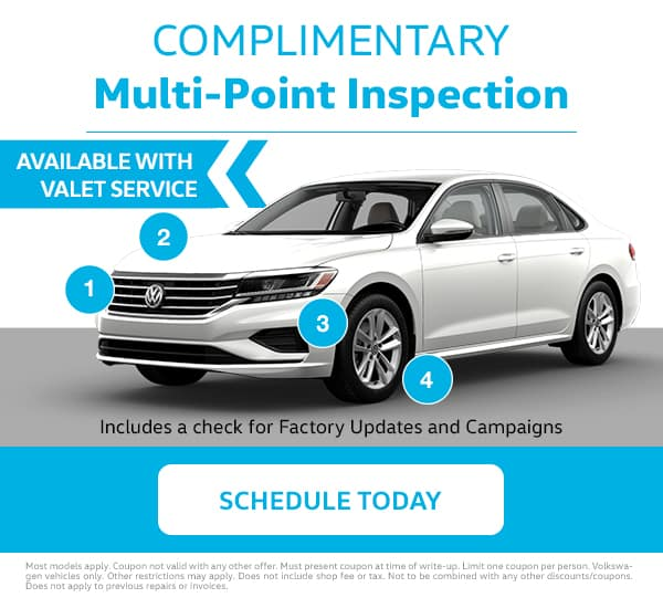 Reeves VW Multi-Point Inspection