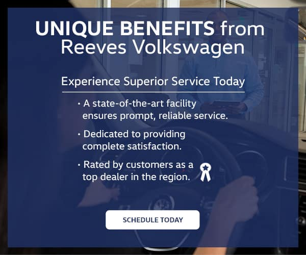 Reeves VW Service Benefits
