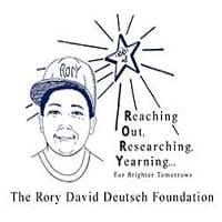 The Rory David Deutsch Foundation logo