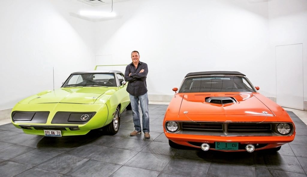 Dan with Muscle Cars