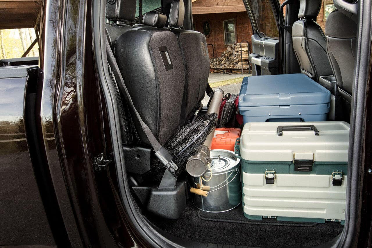Ford F-150 Flat Load Floor