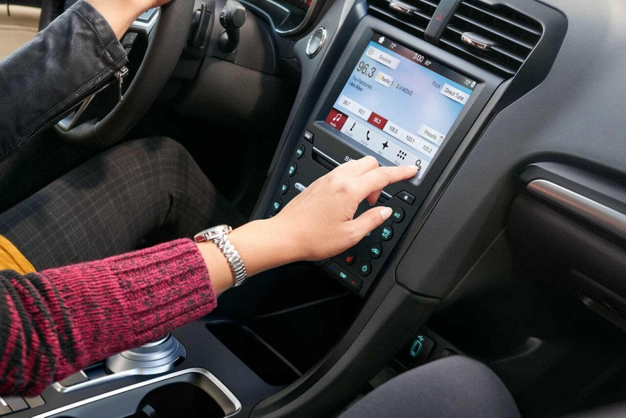 2018 Ford Fusion dashboard
