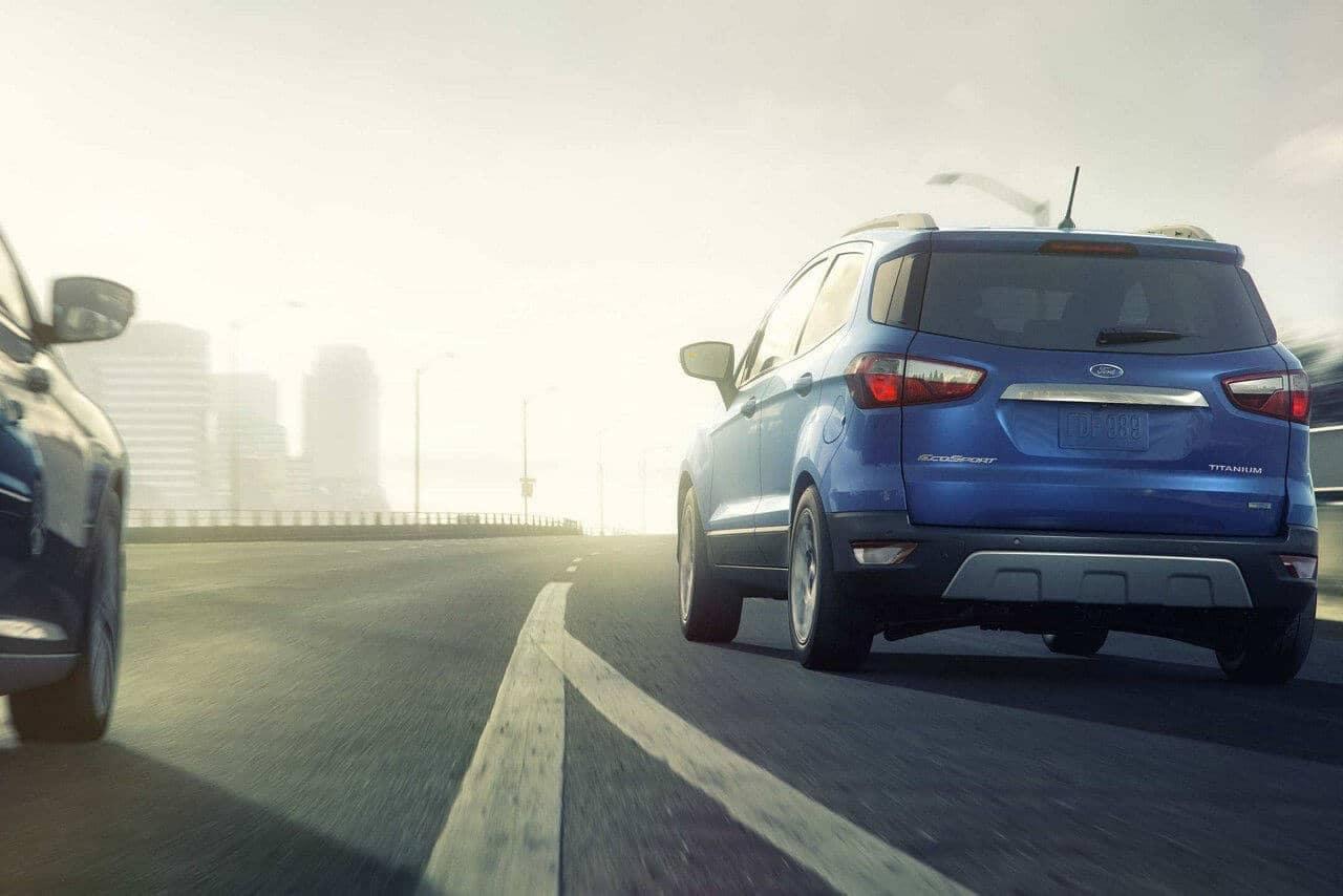 2018 Ford EcoSport SUV rear exterior